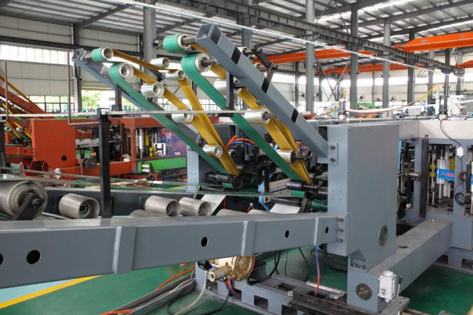 Pasted Valve Multiwall Chemical Paper Bag Machine For Cement Bag 1 Year Warranty