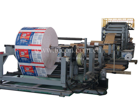 Good Quality Paper Bag Making Machine & Automatic Paper Cement Bag Making Machine Deviation Rectifying System on sale