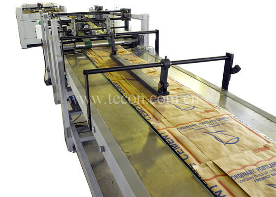 Good Quality Paper Bag Making Machine & High Speed Cement Paper Bag Making Machine Four Colors Printing on sale