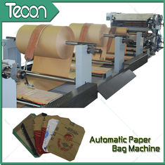 Good Quality Paper Bag Making Machine & Pasted Valve Multiwall Chemical Paper Bag Machine For Cement Bag 1 Year Warranty on sale