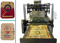 Automatic Kraft Paper Multiwall Bag Making Machine 4 Colors Synchronized Printing