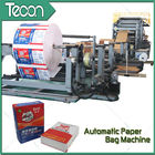 China 50KG Kraft Sack Making Machine , Paper Bag Production Line For Cement Bag company