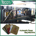 China Flat Bottom Pasting Paper Bag Forming Machine Which Can Pack 50Kg Cement company
