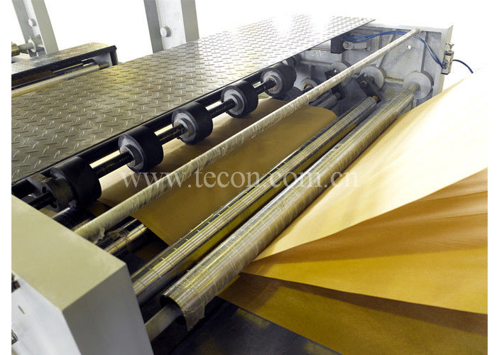 Energy Conservation Paper Bag Making Machines External Reinforcing