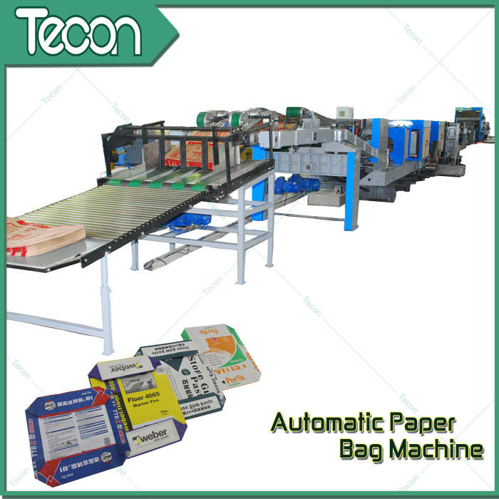 Heavy Material Paper Bag Manufacturing Machine With 2 - 5 Layers Bag Multiwall