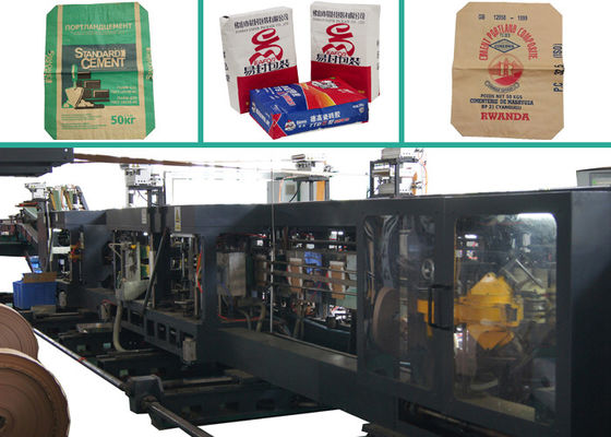 China Strengthen Sheet Milk Powder Food Paper Bag Making Machine With Stepped and Flush Cut factory