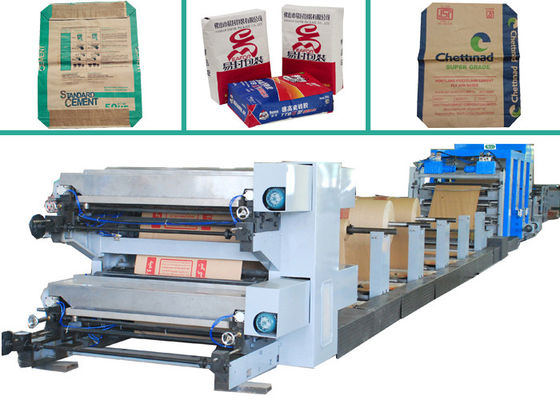 China Automatic Food Paper Bag Machine 23.5﹡2.3﹡1.8 M With Servo System factory