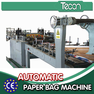 China Automatic Energy Saving Paper Bag Making Machine with Flexo Printing factory