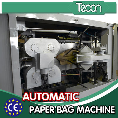 China High-speed and Full-Automatic Paper Bag Making Machine Valve Paper Sack Production Line factory