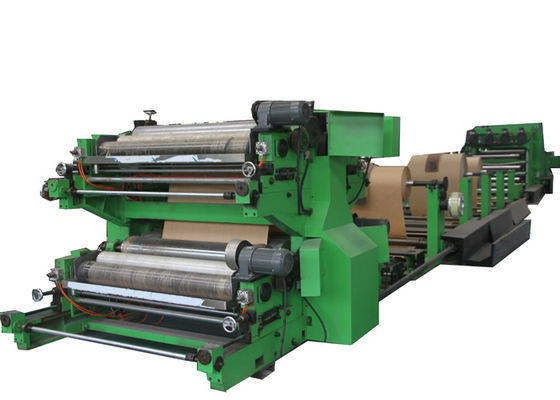 China Energy Conservation Valve Paper Bag Making Machine 22.7 Tons factory
