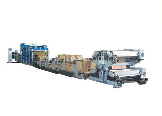 China Advanced and Full Automatic Paper Bag Machine with Four Colors Printing factory