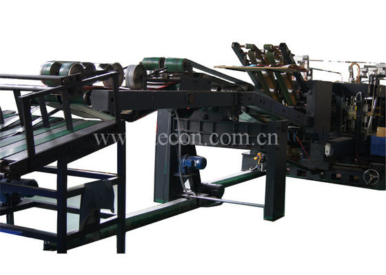 China Automatic Food Paper Bag Making Machine Energy Saving Flexo Printing factory