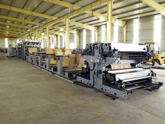 China Intelligent Paper Bag Machine 2 - 4 Layers Kraft with Compressed Air System factory