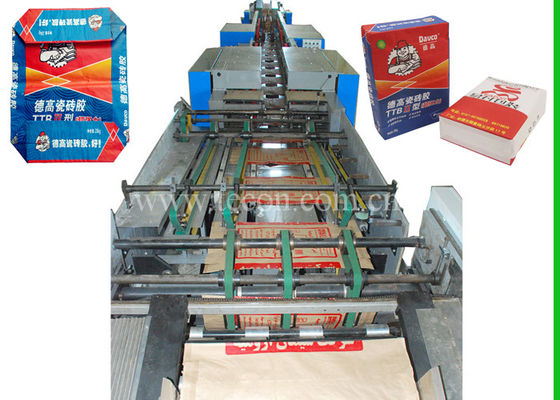 50kg Multi - Wall Tea Food Paper Bag Making Machine With Automated Servo System