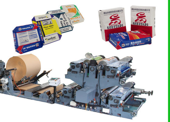 China Block Bottom Type Sack Making Machine For Building Material Packing factory