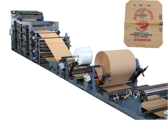 China Masonry Cement Kraft Paper Bag Machine Tube Forming And Bottom Pasting factory
