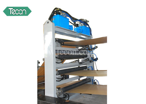 China Full Automatic Paper Sack Machine High Speed With PLC Control Panel factory