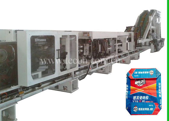 Professional Starch Food Bag Making Machine PLC Control For Paper Bag