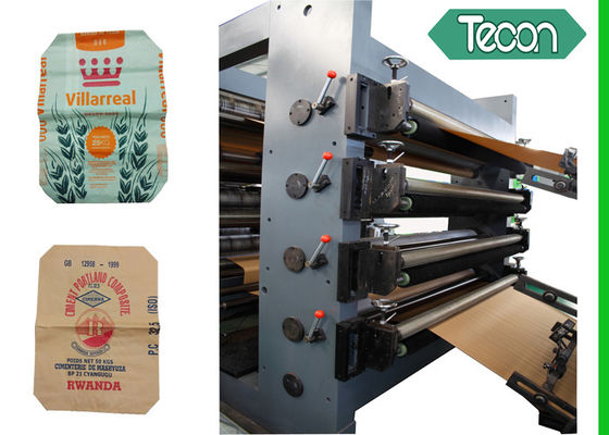 China Tea / Rice Food Paper Bag Making Machine Moisture Protection PP Inliners factory