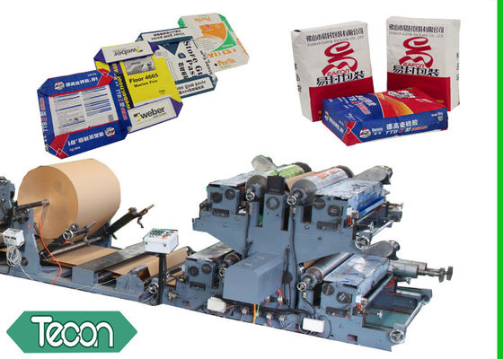 China High Performance Kraft Paper Bag Making Machine Including Step Flat Cutting factory