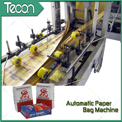 Advanced Full Automatic Motor Driven Valve Paper Bag Making Machine