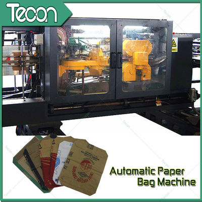 3 Meter Height Automatic Paper Bag Making Machine with Two & Four Colours Printer