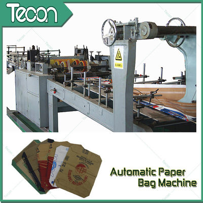 3 Kraft Paper 1 PP Film 20KG Ceramic Adhesive Paper Bag Making Machine Driven By Schneider Electric Motor