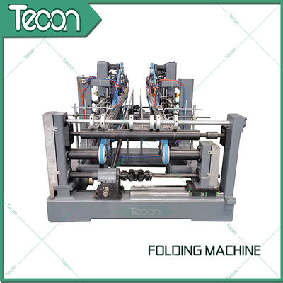 Automatic Valve Paper Bags Sack Folding Machine For 50Kg Cement Bag