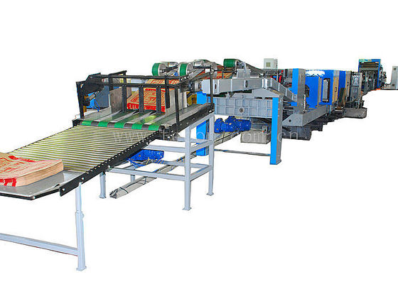 China Digital Servo System Automatic Paper Bag Making Machine Cement Bag Producing Machine factory