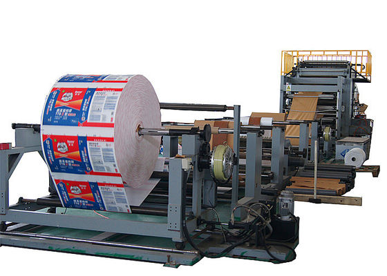 High Capacity Germany Type Valve Paper Bag Forming Machine No Leaking Powder