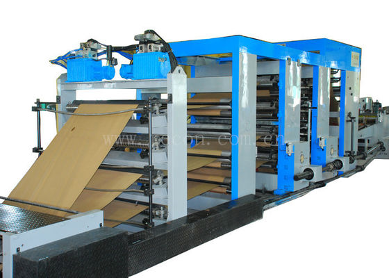 Large Automatic Paper Bag Making Machine With Blade Straight Cut Or Step Cut Type