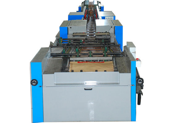 China Kraft Paper Bags / Food Paper Bag Making Machine with Strengthen Sheet , High Speed factory