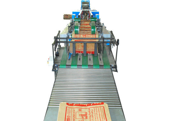 China Energy Conservation Valve Food Paper Bag Making Machinery With Servo System factory
