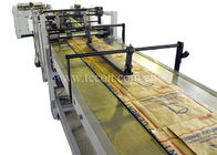 High Speed Cement Paper Bag Making Machine Four Colors Printing