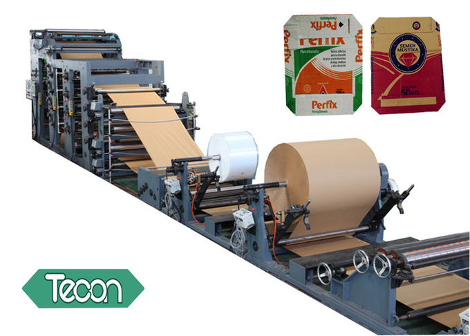 High Standard Automatic Cement Bag Paper Tube Making Machine 30KW
